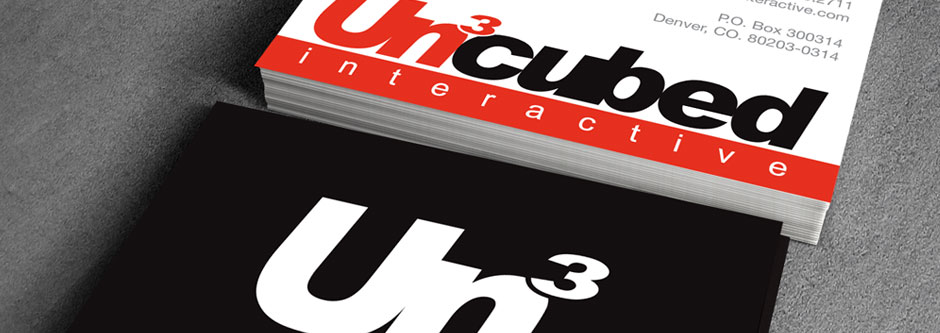 Uncubed Interactive Brand Identity